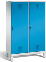 Evolo Garderobenschrank 49210-40, mit Füßen, je eine Tür über zwei Abteile (4 x 300 mm)    günstig bestellen bei assistYourwork