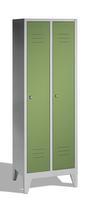 Select Classic Spind 1-100228, auf Füßen 2 Abteile, Abteilbreite á 400mm | günstig bestellen bei assistYourwork