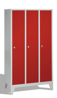 Select Classic Spind 1-100229, auf Füßen 3 Abteile, Abteilbreite á 400mm | günstig bestellen bei assistYourwork