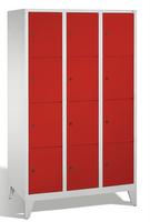 Select Wertsachenschrank 1-100288, mit Füßen 3x4 Fächer, Abteilbreite 400mm,   günstig bestellen bei assistYourwork