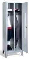 Select Garderobenspind 1-100253 auf Füßen, 2 Abteile für 1 Person, Abteilbreite 400mm | günstig bestellen bei assistYourwork