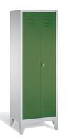 Select Kleiderspind 1-100251 auf Füßen, 2 Abteile für 1 Person, Abteilbreite 300mm | günstig bestellen bei assistYourwork
