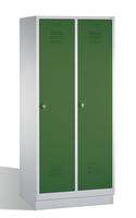Select Classic Spind 1-100234, auf Sockel 2 Abteile, Abteilbreite á 400mm | günstig bestellen bei assistYourwork