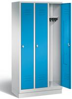 Classic Garderobenschrank 8020-30, auf Sockel 3 Abteile, Abteilbreite á 300mm | günstig bestellen bei assistYourwork
