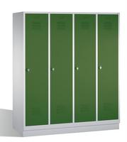 Select Classic Spindschrank 1-100236, auf Sockel 4 Abteile, Abteilbreite á 400mm | günstig bestellen bei assistYourwork