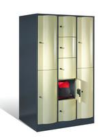 Resisto Großraum-Kombi-Schließfachschrank 8070-3720, 9 Fächer, Tiefe 540mm   günstig bestellen bei assistYourwork