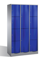 Resisto Großraum-Kombi-Schließfachschrank 8070-3743, 10 Fächer, Tiefe 740mm | günstig bestellen bei assistYourwork