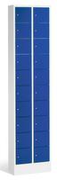 Intro Kleingefachschrank mit Sockel 80700-203 20 Fächer (2x10), HxBxT 1950x460x200mm | günstig bestellen bei assistYourwork