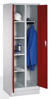 Mehrzweckschrank 8160-20 auf Sockel, 2 Abteile, HxBxT 1800x610x500mm | günstig bestellen bei assistYourwork