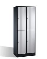 Select Resisto Großraum-Schließfachschrank 1-100509 4 Fächer, 1950x770x540mm | günstig bestellen bei assistYourwork