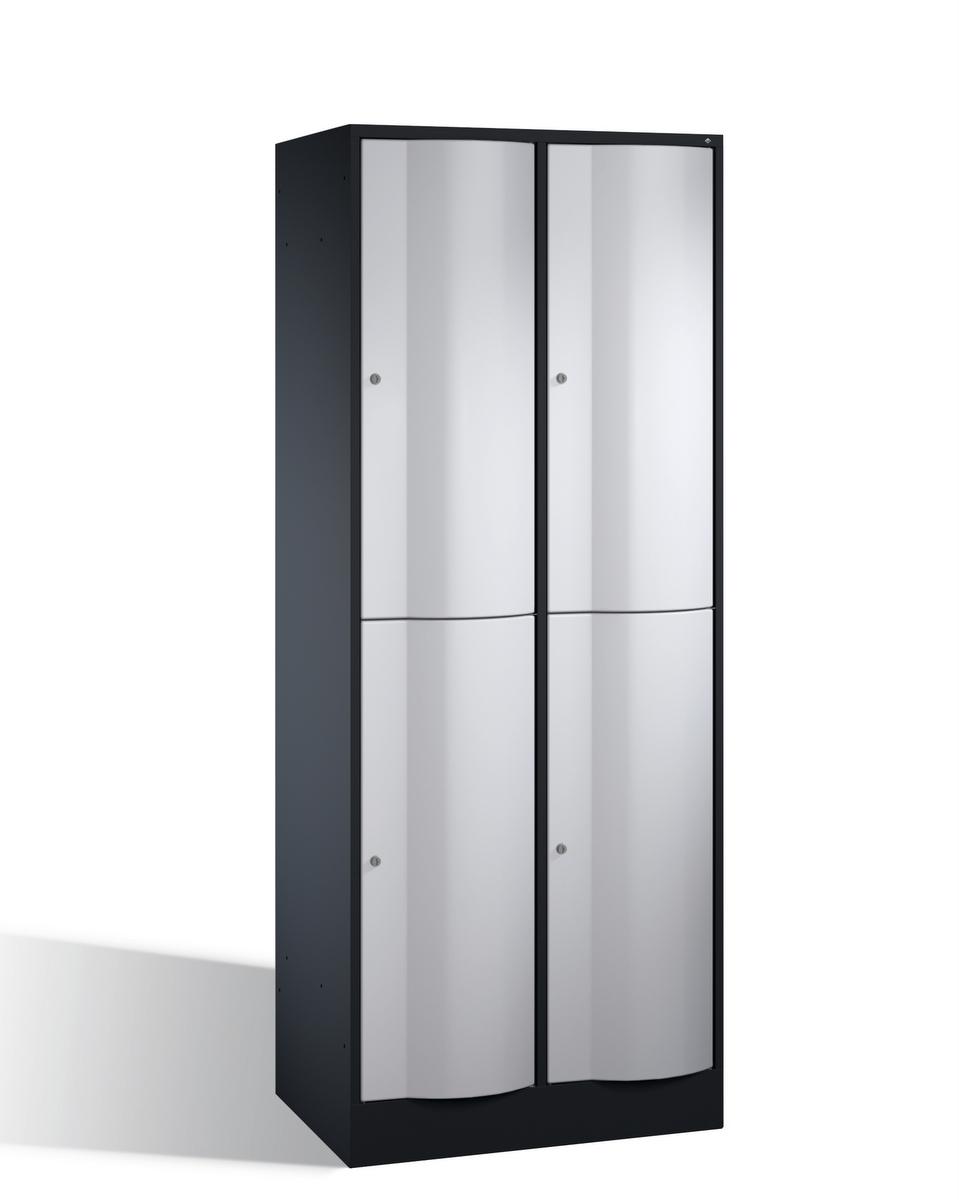 Select Resisto Großraum-Schließfachschrank 1-100512 4 Fächer, 1950x770x640mm | günstig bestellen bei assistYourwork