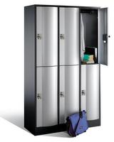 Select Resisto Großraum-Schließfachschrank 1-100513 6 Fächer, HxBxT 1950x1150x640mm | günstig bestellen bei assistYourwork