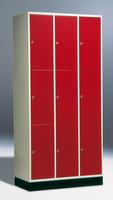 Intro Schließfachschrank 8370-301 9 Fächer, HxBxT 1950x920x480-500mm | günstig bestellen bei assistYourwork