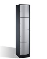 Select Resisto Schließfachschrank 1-100499 4 Fächer, HxBxT 1950x396x640mm | günstig bestellen bei assistYourwork