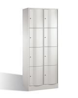 Select Resisto Schließfachschrank 1-100500 8 Fächer, HxBxT 1950x770x640mm | günstig bestellen bei assistYourwork