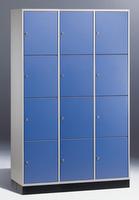 Select Intro Großraum-Schließfachschrank 1-100469 12 Fächer, 1950x1220x490mm | günstig bestellen bei assistYourwork