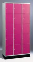 Select Intro Großraum-Schließfachschrank 1-100474 15 Fächer, 1950x1220x590mm | günstig bestellen bei assistYourwork