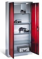 Materialschrank mit Wertfach 1-100028 HxBxT 1950 x 930 x 500 mm | günstig bestellen bei assistYourwork