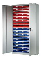 Systemschränke mit Regalkästen, Modell 1 H x B 1950 x 1000 mm, Schranktiefe 410 mm | günstig bestellen bei assistYourwork