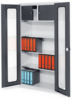 ErgoPlus® Systemschrank Serie 500 H x B 1950 x 1000 mm T 500 mm, Modell 2   günstig bestellen bei assistYourwork