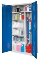 ErgoPlus® Putzmittelschrank mit Vollblechtüren H x B x T 1950 x 1000 x 500 mm | günstig bestellen bei assistYourwork