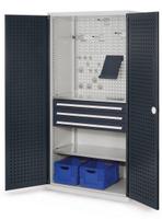 KAPPES Schubladenschrank mit Lochplattentüren HxBxT 1950x1000x600mm | günstig bestellen bei assistYourwork