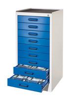 Arbeitsplatzschrank Modell 2 1801.03.0016 HxBxT 1000x500x500mm   günstig bestellen bei assistYourwork