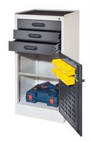 Arbeitsplatzschrank Modell 2 1801.02.3016 HxBxT 1000x500x500mm | günstig bestellen bei assistYourwork