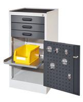 Arbeitsplatzschrank Modell 2S1801.05.3016 HxBxT 1000x500x500mm   günstig bestellen bei assistYourwork