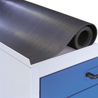 Riffelgummimatte für Arbeitsplatzschrank Schrankbreite 1000 mm | günstig bestellen bei assistYourwork