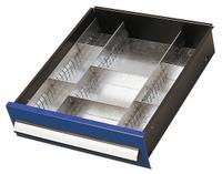 Einteilungsset für Schublade Höhe 125 mm  für KAPPES Schwerlastschrank | günstig bestellen bei assistYourwork