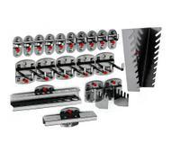 ®RasterPlan doppelter Werkzeughalter mit geradem Dorn | günstig bestellen bei assistYourwork