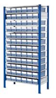 ®RasterPlan Steckregal mit Volumenregalkästen Modell 31, Grundfeld, Regaltiefe 500 mm   günstig bestellen bei assistYourwork