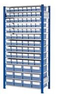 ®RasterPlan Steckregal mit Volumenregalkästen Modell 33, Grundfeld, Regaltiefe 400 mm | günstig bestellen bei assistYourwork