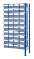 ®RasterPlan Steckregal mit Volumenregalkästen Modell 32, Anbaufeld, Regaltiefe 500 mm | günstig bestellen bei assistYourwork