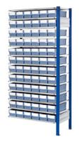 ®RasterPlan Steckregal mit Volumenregalkästen Modell 31, Anbaufeld, Regaltiefe 400 mm | günstig bestellen bei assistYourwork