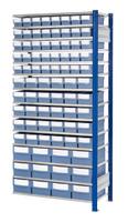 ®RasterPlan Steckregal mit Volumenregalkästen Modell 33, Anbaufeld, Regaltiefe 400 mm | günstig bestellen bei assistYourwork