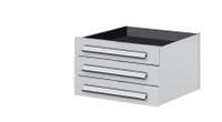 Schubladenblock für mobile Arbeitsstation, dreifach, Breite 500 mm | günstig bestellen bei assistYourwork