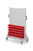 RasterMobil® Rollwagen Größe 4 - einseitig H x B x T 1580 x 1000 x 500 mm, Modell E86 | günstig bestellen bei assistYourwork