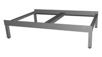 Zubehör: Fussgestell W760, Höhe 18 cm, für 2 Schränke Modell EUROSTYLE  | günstig bestellen bei assistYourwork