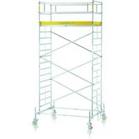 Fahrgerüst mit Fahrbalken 51314, Gerüsthöhe 12,65 m Plattform 1,20 x 1,80 m, Modell RollMaster 2T   günstig bestellen bei assistYourwork