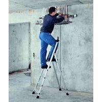 Z200 Gebördelte Stufen-Stehleiter 44164, 4 Stufen, einseitig begehbar | günstig bestellen bei assistYourwork