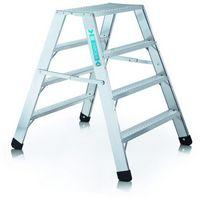 Genietetes Arbeitspodest 40393, 2 x 3 Stufen, 2 x 2 Stufen, klappbar, Modell Seventec RC BP | günstig bestellen bei assistYourwork
