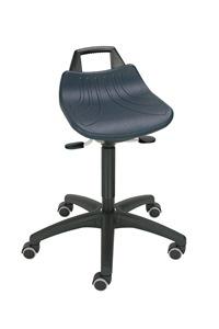 Stehhilfe mit Sitz aus Hartplastik Modell 366X mit Rollen | günstig bestellen bei assistYourwork