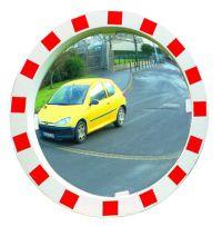 Verkehrsspiegel 600mm Ø,  mit rot-weißem Rahmen | günstig bestellen bei assistYourwork