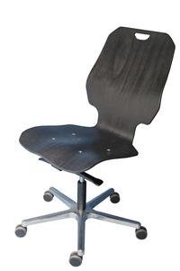 XXL Arbeitsstuhl mit komfortabler  Sitz- und Rückenbreite | günstig bestellen bei assistYourwork
