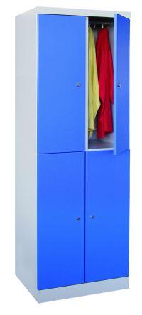 Fächerschrank 1800x600x500mm, 4 Schließfächer | günstig bestellen bei assistYourwork
