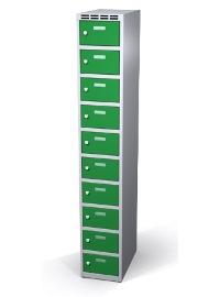 Wertfachschrank 10 Fächer HxBxT: 1800 x 300 x 500 mm | günstig bestellen bei assistYourwork