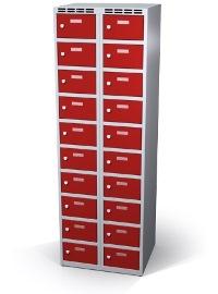 Wertfachschrank 20 Fächer HxBxT: 1800 x 600 x 500 mm | günstig bestellen bei assistYourwork