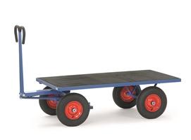 FETRA Handpritschenwagen 6403L, Plattform, 1200x800mm Tragkraft 700kg, Luft-Bereifung | günstig bestellen bei assistYourwork